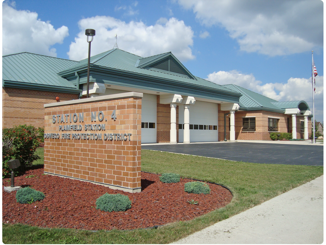 Plainfield Station Oswego Fire Protection District Sation #4