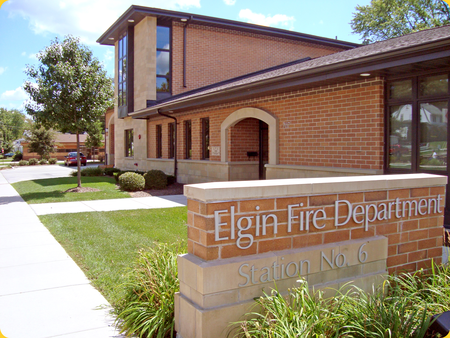 Elgin Fire Department Station No 6